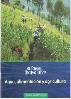 Agua, alimentación y agricultura