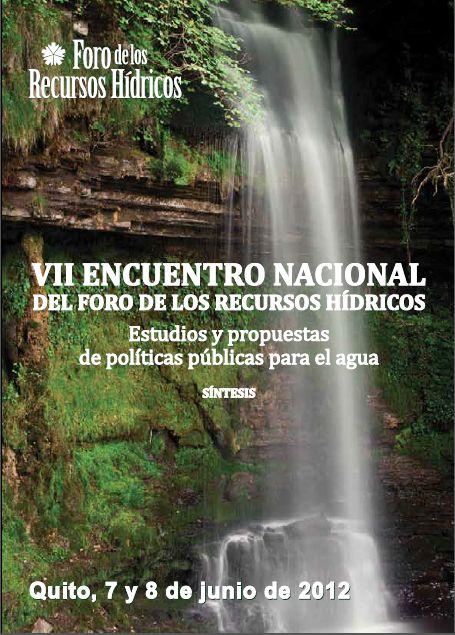 VII Encuentro Nacional – Estudios y propuestas de políticas públicas para el agua